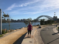 Meg Week 4 - Running Down Under